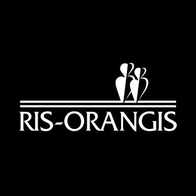 Ris orangis monochrome white